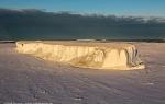 Fast ice edge, McMurdo Sound, Antarctica