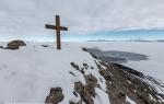 Observation Hill, McMurdo Sound, Ross Sea, Antarctica