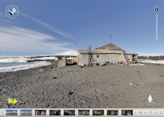 Cape Evans virtual tour preview